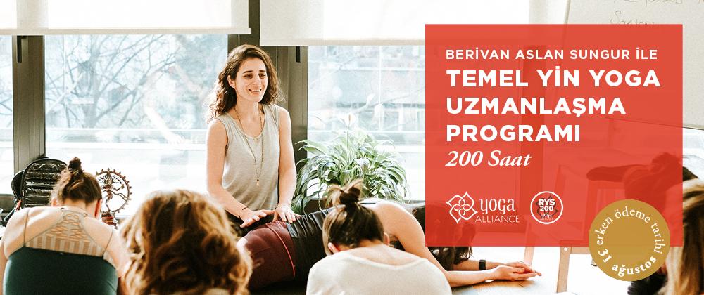 Temel Yin Yoga Uzmanlaşma Programı